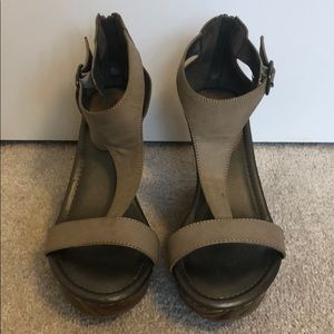 Maurices Taupe Wedges